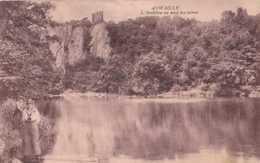 Aywaille - L'Amblève Au Pied Des Ruines - Circulé En 1921 - Animée - TBE - Aywaille