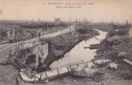 Diksmuide - Dixmude - Pont Et Chaussé De Beerst - Guerre 1914-1918 - Pas Circulé - Animée - TBE - Diksmuide