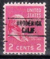USA Precancel Vorausentwertung Preo, Locals California, Broderick 748 - Etats-Unis