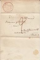 Longjumeau Lettre 16 Janvier 1818 - Documents Historiques