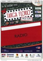 PASS BADGE RACE MOTORSPORTS RALLY TARGA FLORIO IRC RADIO - Automobile - F1