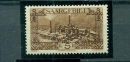 Saargebiet, Landschaften, Nr. 121 Postfrisch ** - 1920-35 Saargebiet – Abstimmungsgebiet