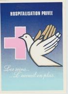 """19 / 1 / 201. - HOSPITALISATION. PRIVÉE.  """" LES  SONS  L'ACCUEIL. EN. PLUS  """" C P M  - - Health"""