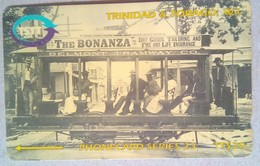 205CTTC Transfer Station TT$20 Slash C/n - Trinidad & Tobago