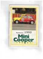 REGOLAMENTO 1995 MINI COOPER TROPHY 34 PAG. - Car Racing - F1