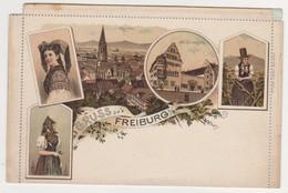 26620  Freiburg Gruss Aus - Lettre Postale - Offmar Zieher Munchen - Allemagne