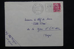 FRANCE - Oblitération Poste Aux Armées Sur Enveloppe En 1954 Pour Épinal - L 20689 - Marcophilie (Lettres)
