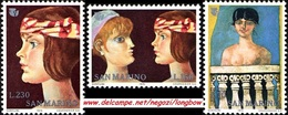 San Marino 1975 Serie Anno Internazionale Della Donna - Nuovi