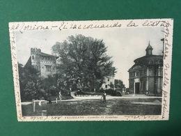 Cartolina Felizzano - Castello Di Redabue - 1919 - Alessandria