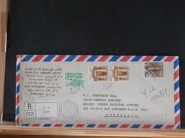 A8771  LETTRE RECOMM. EGYPT TO AUSTRALIA - Egypt