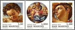 San Marino 1975 Serie Scene Religiose - Nuovi