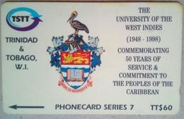 245cTTA University Of West Indies TT$60 - Trinité & Tobago