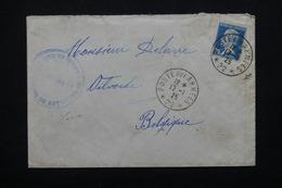 FRANCE - Oblitération Poste Aux Armées Sur Enveloppe En 1925 Pour La Belgique - L 20695 - Marcophilie (Lettres)