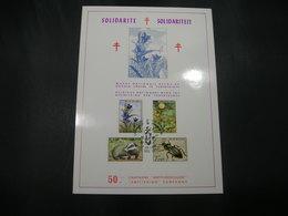 """BELG.1974 1738 1739 1740 & 1741 FDC Fila Card """"Solidarité- Solidariteit""""  Fauna En Flora/Faune Et Flore - 1971-80"""
