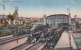 Hauptbahnhof  - Gare Et Trains - ZH Zurich
