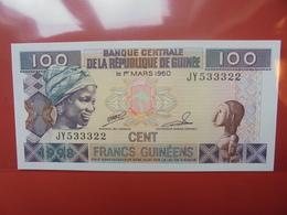 GUINEE 100 FRANCS 1998 UNC - Guinée