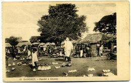 CPA DAHOMEY (Bénin) Abomey Marché - Dahomey