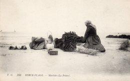 BERCK-PLAGE - Matelote 'La Prière'-. - Berck