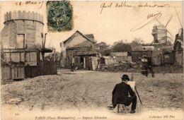 CPA PARIS 18e Vieux Montmartre. Impasse Girardon. ND Phot. (573838) - Arrondissement: 18