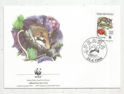 Lettre , 1 Er Jour,official First Day Cover , WWF , TCHEQUIE , Ceska Republika , Praha , 1996, Eliomys Quercinus - FDC
