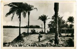 CPA DAHOMEY (Bénin) Cotonou Lagune Village De Pêcheurs - Dahomey