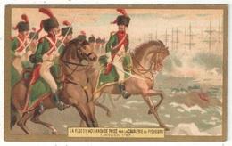 La Flotte Hollandaise Prise Par La Cavalerie De Pichegru - Chicorée Voelcker-Coumes - Chromos