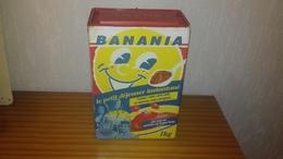 """Boite En Carton """" Banania """" 1 Kg De 1988 - Boîtes"""