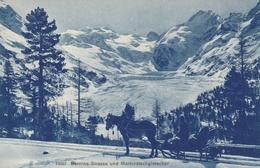 Bernina-Strasse Und Morteratschglescher - Switzerland