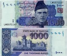 PAKISTAN        1000 Rupees        P-50L       2017        UNC  [sign. Ashraf M. Wathra] - Pakistan