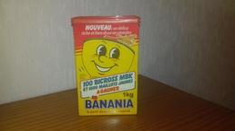 """Boite En Carton """" Banania """" 1 Kg De 1987 Modele N° 2 - Boîtes"""