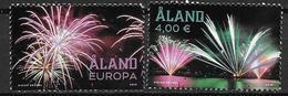 Aland 2018 Série Neuve Feux D'artifice - Aland