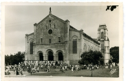 CPA DAHOMEY (Bénin) Porto-Novo Eglise De L'Immaculée-Conception Cathédrale - Dahomey