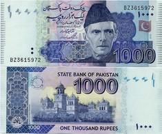 PAKISTAN        1000 Rupees        P-50e       2010       UNC  [sign. Shahid Kardar] - Pakistan