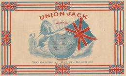 Fin 1800 étiquette Boite à Cigare Union Jack - Etiquettes