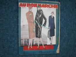 Au Bon Marché Hiver 1927/28 Catalogue 95 Pages 24X31 + 14 Echantillons +bon Commande Et Mesures BE - Textile & Vestimentaire