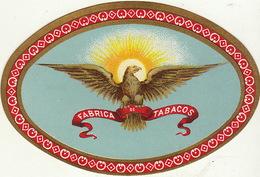 Fin 1800 étiquette Boite à Cigare Nos Artistes ACB - Etiquettes