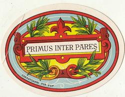 Fin 1800 étiquette Boite à Cigare Nos Artistes EL RIO DEL REY - Etiquettes