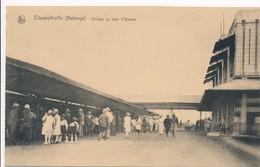 CPA - Afrique - RDC - Congo Belge - Elisabethville - Arrivée Du Train D'Europe - Congo Belge - Autres