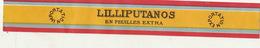 Fin 1800 étiquette BANDE Boite à Cigare - Etiquettes