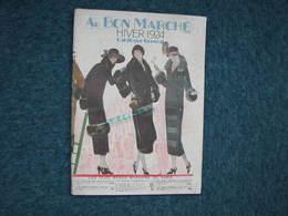 Au Bon Marché Hiver 1924 Catalogue General 96 Pages 25X36 + Prospectus 4 Pages Hiver 1924/25 - Textile & Clothing