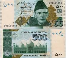PAKISTAN        500 Rupees        P-49Ah       2016       UNC  [sign. Ashraf M. Wathra] - Pakistan