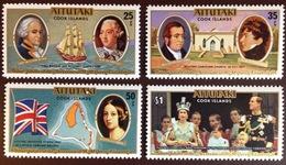 Aitutaki 1977 Silver Jubilee MNH - Aitutaki