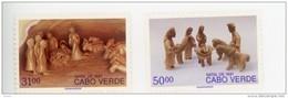 Cap Vert-Cabo Verde-1991-Noel, La Crèche-607/8-***MNH - Cap Vert