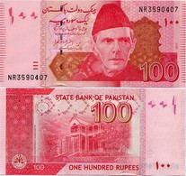PAKISTAN        100 Rupees        P-48L       2017       UNC  [sign. Ashraf M. Wathra] - Pakistán