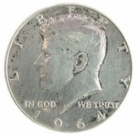 1964 - United States ½ Dollar - KM# 202 - VF - Federal Issues