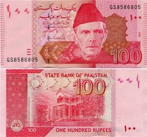 PAKISTAN        100 Rupees        P-48g       2012       UNC  [sign. Yaseen Anwar] - Pakistan