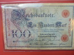 Reichsbanknote 100 MARK 1907 - 100 Mark