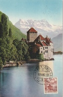 Chillon Et Dents Du Midi  (carte Maximum) - Switzerland