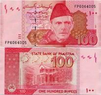 PAKISTAN        100 Rupees        P-48f       2011       UNC  [sign. Shahid Kardar] - Pakistán