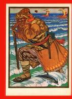 Bilibin Illustration Du Conte Populaire Russe Dauphin Sol Ax - Delfini